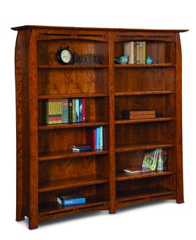 "Boulder Creek 10 Shelf 6"" Bookcase"