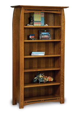 "Boulder Creek 5 Shelf 6"" Bookcase"
