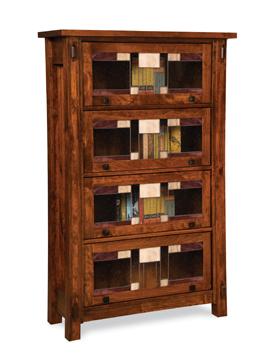Craftsman 4 Door Barrister Bookcase
