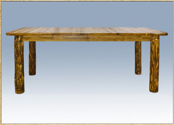 Glacier Country 4 Post Dining Table with Leaves