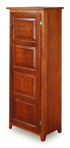 "Classic 22"" Pie Safe with Raised Panel Door"