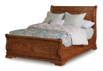 furniture sets bedroom chippewa sleigh bed amish furniture factory 11627