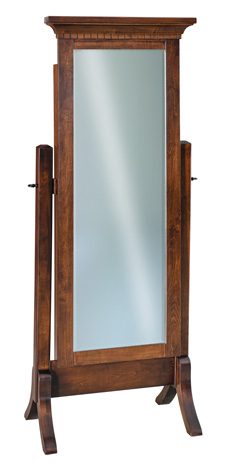 Empire Beveled Cheval Mirror