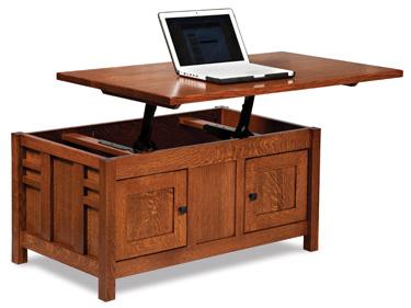 Kascade 42 LTCofeeTable Open 01 Ashley Furniturecoffee Tables