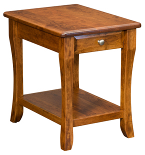 Berkley End Table With Drawer Amish Furniture Factory