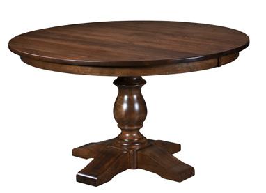 Alex Single Pedestal Dining Table