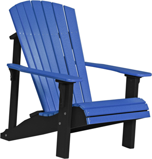 Amish Poly Vinyl Deluxe Adirondack Chair