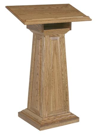 Large Raised Panel Podium