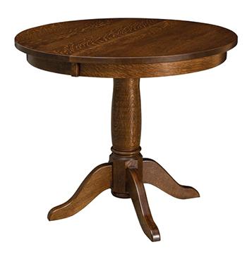 Addison Single Pedestal Dining Table