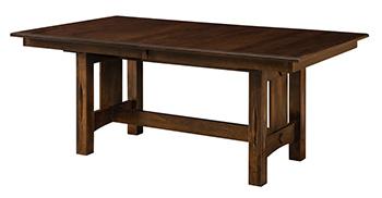 Ravena Trestle Dining Table