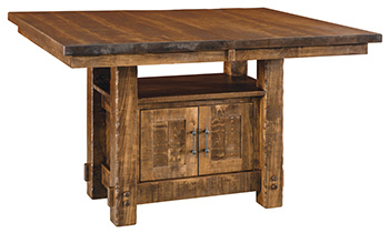 Houston Pub Cabinet Table
