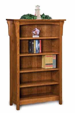 Bridger Mission 4 Shelf 5' Bookcase