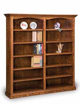 Double Bookshelf Amish Bookshelf Amish Furniture Factory