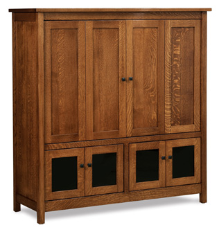 Centennial 57 Tv Cabinet Amish Furniture Factory Amish