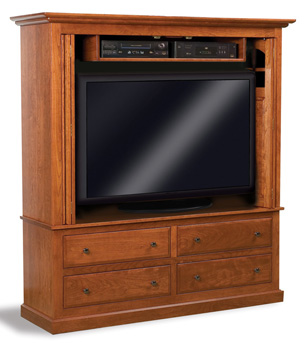 Lcd Tv Cabinets Wooden Tv Cabinets Amish Furniture Factory