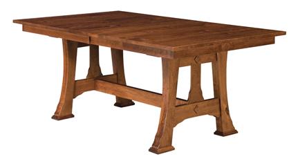 Marvelous Amish Cambridge Trestle Dining Table