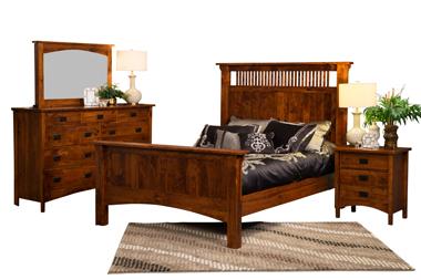 Arts & Crafts Mission Bedroom Set