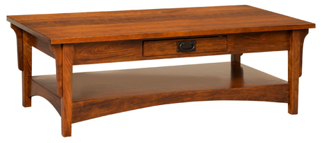 Arts & Crafts Mission Coffee Table