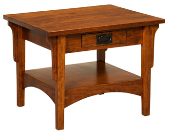 Arts & Crafts Mission End Table