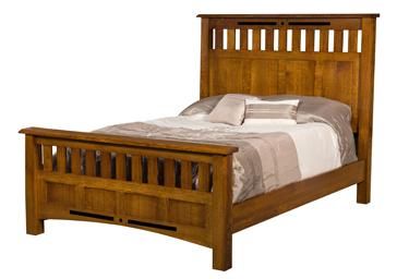 Bel Aire Slat Panel Bed