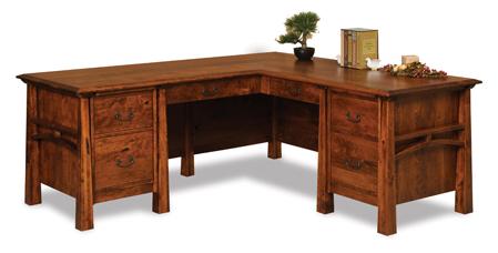 Artesa 6 Drawer L Desk