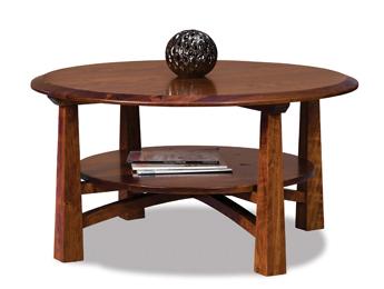 "Artesa 38"" Round Coffee Table"