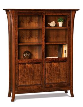 Ensenada 8 Shelf, 2 Door Bookcase