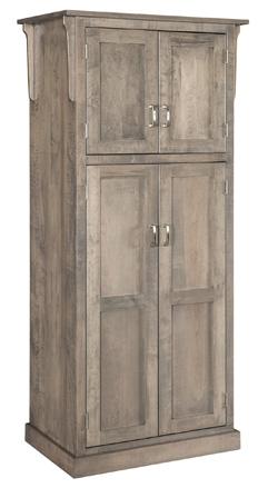 "32"" Mission 4-Door Pantry Cabinet"