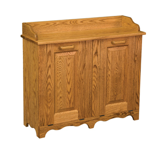 Double Tilt Out Trash Bin Tilt Out Wooden Trash Bin