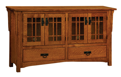 "Honeybee Mission 60"" TV Cabinet"