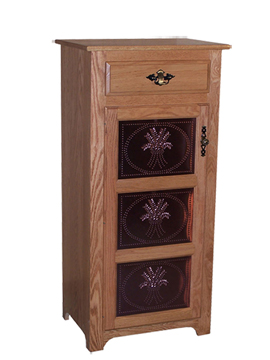 Traditional One Door, One Drawer Jelly Cupboard