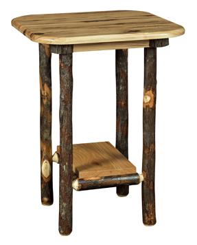 Bearwood End Table with Bottom Shelf