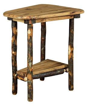 Bearwood Wedge Shaped End Table