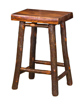 "24"" Pine Top Bar Stool"