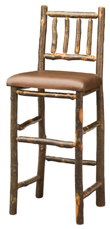 "30"" Early American Bar Stool"