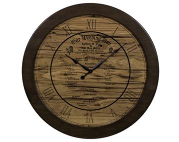 "36"" Round Celebration Wall Clock"