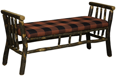 """48"""" Bench with Arms"""