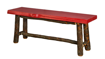 """48"""" Pine Top Bench"""