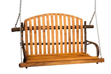 Deacon's Bench Style Swing