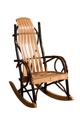Bendwood Hickory Child's Rocker