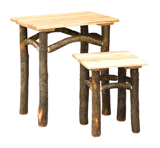 Hickory Nesting Table