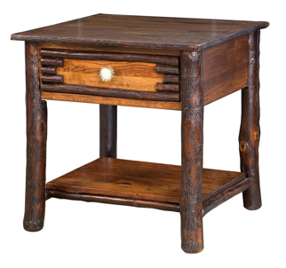 "26"" Wildwood 1 Drawer End Table"