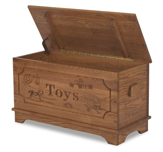 Amish Toy Storage Box