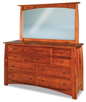 Boulder Creek  10 Drawer Dresser