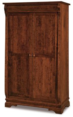 Chippewa Sleigh Wardrobe Armoire