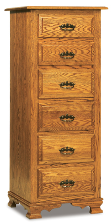 Hoosier Heritage 6 Drawer Lingerie Chest Amish Furniture