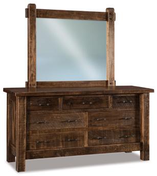 """JR Houston 71"""" 7 Drawer Dresser"""
