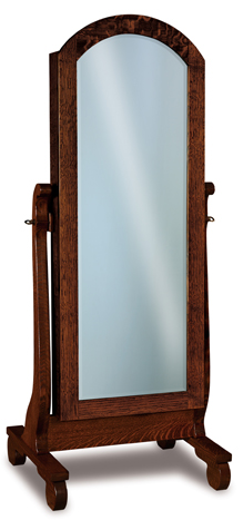 Old Classic Sleigh Beveled Jewelry Mirror