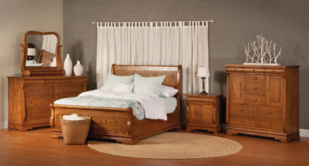 Chippewa Sleigh Bedroom Set