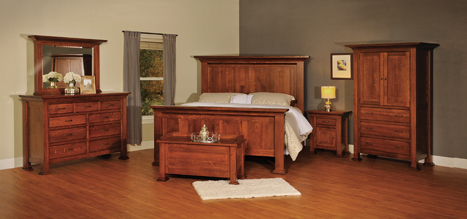Empire Bedroom Set Amish Furniture Factory